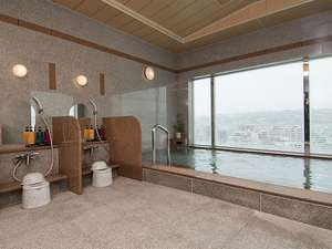 最上階大浴場