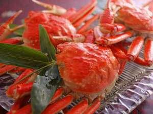 加賀山代温泉 みどりの宿 萬松閣:★冬の王様を味わう季節です!ずわい蟹を存分にご堪能下さい♪イメージ