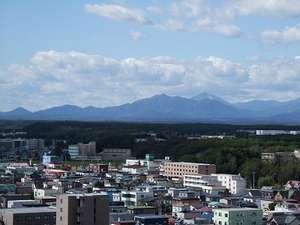 ホテルルートイン千歳駅前:上層階からの眺めは最高です!