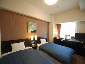 ホテルルートイン千歳駅前:☆寛ぎを追求したコンフォートルーム☆ベットサイズは110センチでお子様との添い寝利用もできます♪