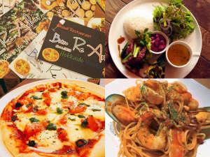 直営レストランはランチも営業。イタリアン・フレンチに和のテイストを加えたカジュアルレストラン。
