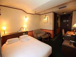 八王子ホテルニューグランド:【ダブルAルーム 20~21㎡】ベッド幅158cm