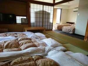 四季の宿 富士山:お布団を敷けば最大7名様まで宿泊できます