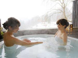 飛騨高山随一の眺望と5つの貸切風呂の湯宿 高山観光ホテル:【無料☆眺望貸切風呂】飛騨の四季の移ろいを感じながら、至福の時をお過ごしください