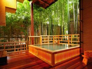 熱海温泉 湯の宿おお川:初川のせせらぎを聴く好評の貸切露天風呂