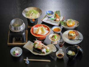 熱海温泉 湯の宿おお川:夕食一例