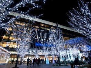博多駅前広場クリスマスイルミネーション「提供:福岡市」