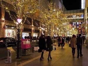 天神クリスマスイルミネーション「提供:福岡市」