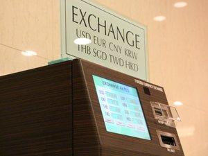 自動外貨両替機