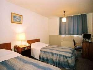 北海ホテル:洋室ツインルーム(網走川の見えるお部屋)