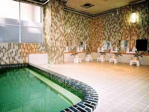 北海ホテル:朝8時迄入浴できる光明石温泉を完備