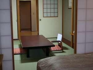 露天風呂の宿 天山閣 湯楽庵:露天風呂付和洋室(和室6畳)