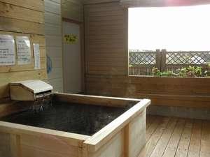 露天風呂の宿 天山閣 湯楽庵:天然温泉掛け流しの客室露天風呂