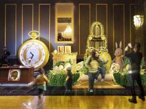 The Park Front Hotel at Universal Studios Japan(R):3/17~5/7 イースター・バニーと、幸運をもたらすというビッグな「ラッキー☆エッグ」が!