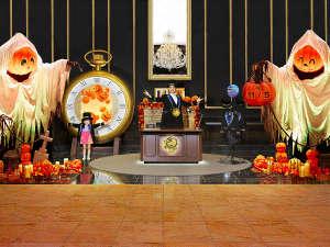 The Park Front Hotel at Universal Studios Japan(R):【9/8~11/5】 約3mのビッグなかぼちゃオバケが集う、ハロウィーンの世界へようこそ!!
