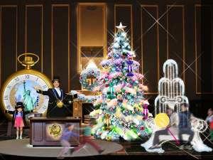 The Park Front Hotel at Universal Studios Japan TM:【11/10~12/25】 約5mのダイナミックに光り輝くカラフルなツリーが登場!