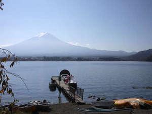 *【富士山と河口湖】雄大な風景をお楽しみ下さい。