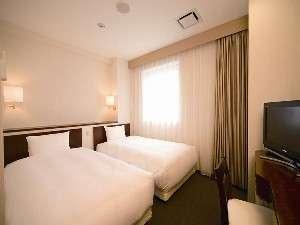 ホテルヒラリーズ:お友達とご旅行の際に、大人気のツインルーム