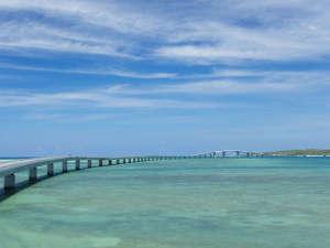 ぷらいむはうす ん:【宮古島景観:伊良部大橋】宮古島と伊良部島を結ぶ橋