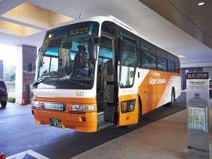 空港からはリムジンバスが便利♪羽田から約30分成田から約65分
