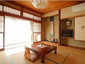 湯田川温泉 つかさや旅館:くつろぎ純和室トイレなし8畳