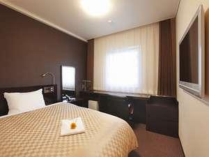 ホテルnanvan浜名湖:【コンフォートシングル】ゆったりとした広いお部屋とシモンズ社製ダブルベッドでごゆっくりと。