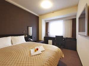 ホテルnanvan浜名湖:デラックスダブルシモンズ製最高級ベッド・クイーンサイズ(W160×200) 19㎡