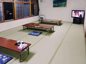 オソウシ温泉 鹿乃湯荘:休憩室