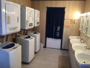 丘の上のゲストハウス「Daigo house」:Nozomi 洗面所&洗濯室