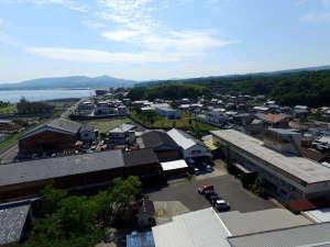 ビジネス須川観光ホテル:【ドローン撮影】当館上空から。