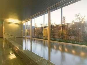 ホテルサンルート徳島:最上階にある天然温泉大浴場「びざんの湯」