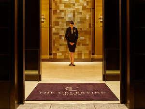 ホテル ザ セレスティン銀座(2017年10月5日オープン):お出迎え