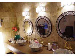 旅荘 茶谷:2017年リニューアル女性浴室パウダールーム
