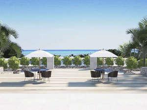 クラブメッド石垣島:*施設/海を眺めながら、のんびりとお過ごし下さい。