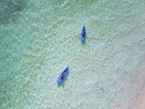 *カヤック/青い海と空に囲まれながら、海のお散歩をお楽しみ下さい。