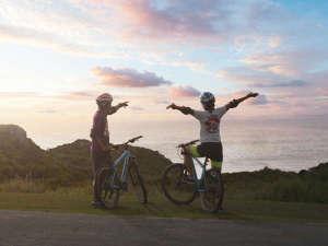 クラブメッド石垣島:*マウンテンバイク/夕日を眺めながら、仲間と楽しくサイクリング!