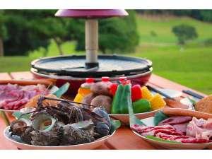キャメルホテルリゾート:【お部屋でBBQ】赤外線ロースタ―でお肉も海鮮も野菜も美味しくお召し上がり頂けます♪