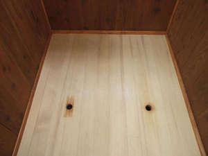 喜至楼 別館:瀬見温泉名物「ふかし湯」が当館本館1Fに完成しました。宿泊された方は無料で利用可能です。