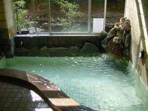四万温泉 つばたや旅館:中浴場