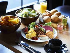 レム六本木:【朝食イメージ】朝食盛り付け例