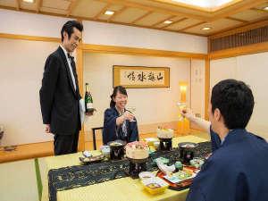 八幡平ハイツ:大切な方との記念旅行におもてなしを添えて(ご夕食イメージ)