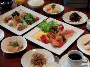 相鉄フレッサイン東京京橋:朝食例