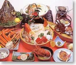 温泉民宿さかんや:宿1番人気こだわり金目鯛の煮付け+水軍海賊盛り!伊勢えびに鮑の踊り焼き駿河湾の幸を食べ尽くし