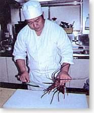 温泉民宿さかんや:板前としての、経験、料理に対するこだわり!お客様に喜んで頂けるよう頑張ります