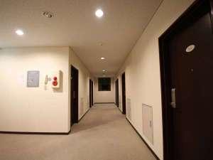 ホテルニューホープ:廊下