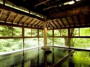 仙台・作並温泉 鷹泉閣岩松旅館:女性専用清流風呂「香華の湯」