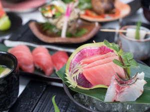 グレートアイランド倶楽部:*お夕食一例(和食)/新鮮な食材にこだわった品々