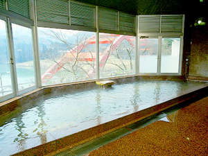 柳津温泉 つきみが丘町民センター:*100%の天然温泉です。絶景を眺めを、ご堪能ください。