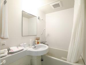 シングルA・Bルームの浴室