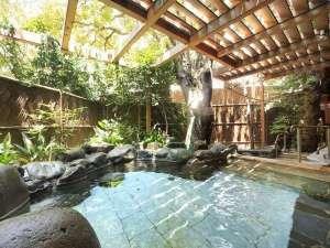 ホテル暖香園:<露天風呂やんも>pH8.6の良質温泉で開放感のある露天風呂男性女性とも広い露天風呂あり